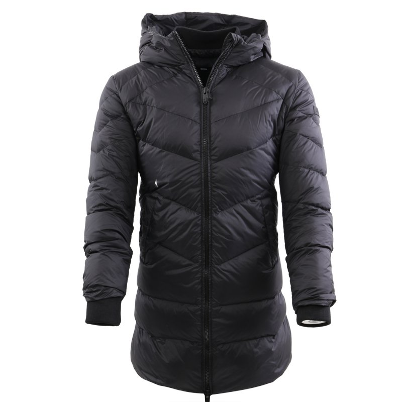 DIESEL Damen Winter Daunen Parka W PATLONG NEW Total Black 00S2QJ Gr. XL 2. Wahl