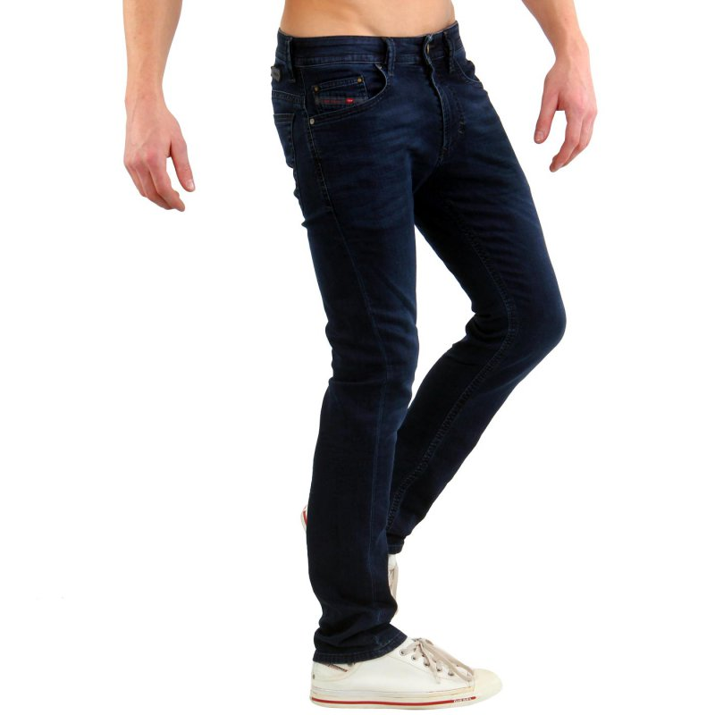 diesel herren jogg jeans sweat hose thavar ne dark blue. Black Bedroom Furniture Sets. Home Design Ideas