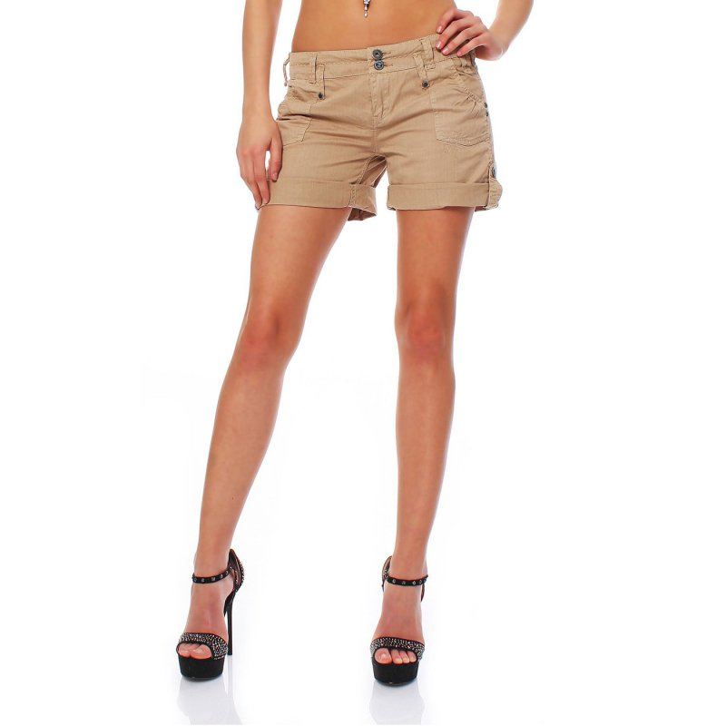FELLA & LASS Damen Shorts Pia Ladies Atmosphere Beige Größe S