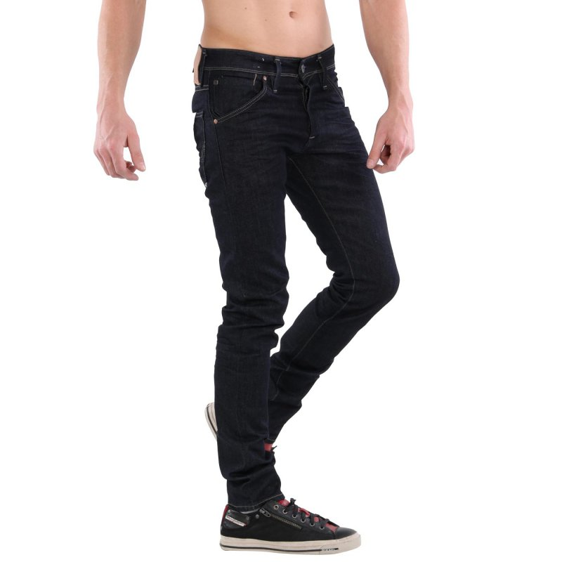 JACK & JONES Herren Slim Stretch Jeans Hose GLENN FOX Dark Blue BL497 Größe 32/32