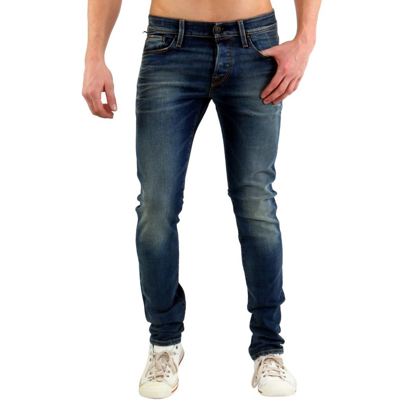 JACK & JONES Herren Slim Stretch Jeans Hose GLENN ICON Blue BL653 2. Wahl