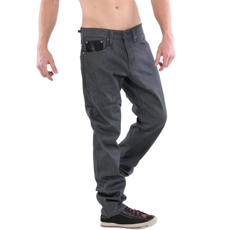 JACK & JONES Herren Stretch Jeans Hose GLENN VINTAGE LEATHER Grey BL390 Größe 33/32