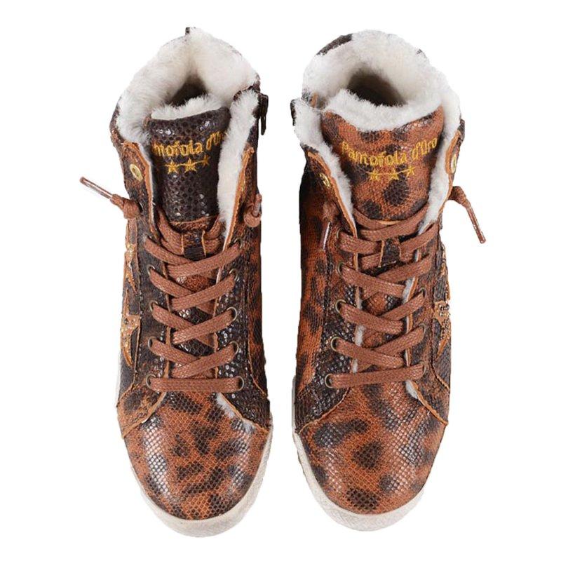pantofola d oro damen sneaker 2 high stafania leoptil. Black Bedroom Furniture Sets. Home Design Ideas
