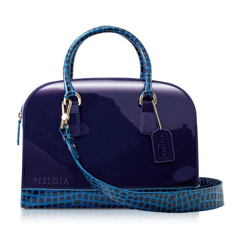 PISIDIA Damen Silikon Handtasche Magic Night Blue P04