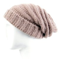 BLAUER USA Damen Strickmütze Long Beanie Brown BLD0418