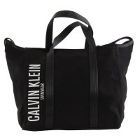 CALVIN KLEIN Damen Canvas Shopper Tasche MELANIE Black...