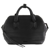CALVIN KLEIN Damen Hand Tasche ESTHER SATCHEL Black J6I...