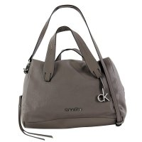 CALVIN KLEIN Damen Tasche Med. Crossover Off-White Grey...