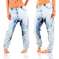 DIESEL Damen Denim Sweat Jogg Jeans EAZEE Blue 0606E 2. Wahl