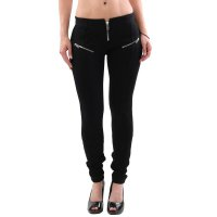 DIESEL Damen Jersey Stretch Hose RN93243 Black...