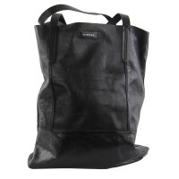 DIESEL Damen Leder Tasche Shopper EASY C. DAFNE Black 2....