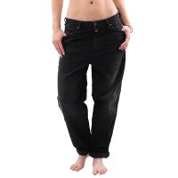 DIESEL Damen Regular Straight Jeans Hose ALYS 069BG Black...