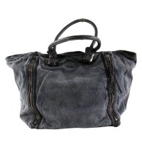 DIESEL Denim Weekender Hand Tasche SHEENN ZIP Black...