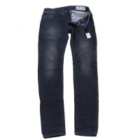 DIESEL Herren Denim Jeans Hose SLEENKER 0842Q Dark Blue...
