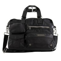 DIESEL Herren Messenger Bag Laptop Tasche Supergear Black...