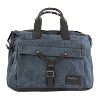 DIESEL Herren Messenger Laptop Tasche WHYBE Denim Blue 2....