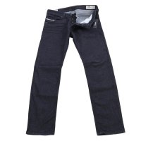 DIESEL Herren Stretch Denim Jeans BELTHER-RECI Dark Blue 084IT 2. Wahl Größe 34/32