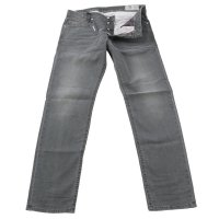 DIESEL Herren Stretch Denim Jeans Hose AKEE Grey 0699P...