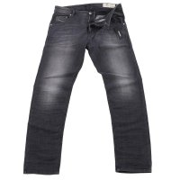 DIESEL Herren Stretch Denim Jeans Hose KRAYVER Black...