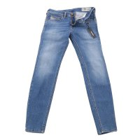 DIESEL Herren Stretch Denim Jeans Hose STICKKER Blue...