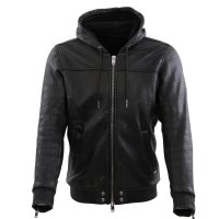 DIESEL Herren Winter Knit Jacke Hooded MORTON Black...