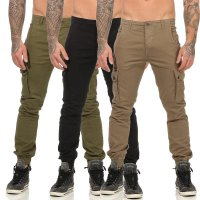 JACK & JONES Herren Cargo Hose PAUL WARNER AKM 168 in 3 Farben