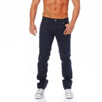 JACK & JONES Herren Jeans Clark Classic Comfort Piping Blue BL226 2. Wahl