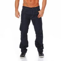 JACK & JONES Herren Jeans Hose Boxy Chris Deep Blue...