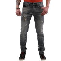 JACK & JONES Herren Jeans Hose Glenn Fox Leather BL390 Grey 2. Wahl