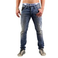 JACK & JONES Herren Jeans Hose Glenn Fox Leather Comfort Blue 2.Wahl Größe 34/32