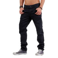 JACK & JONES Herren Jeans Hose Mike Drew Black BL340 2. Wahl 34/32