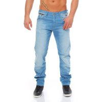 JACK & JONES Herren Jeans Hose NICK LAB Sky Blue BL289 2. Wahl