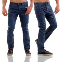 JACK & JONES Herren Regular Stretch Jeans CLARK CLASSIC Blue BL431 2. Wahl