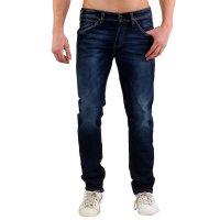 JACK & JONES Herren Slim Jogg Jeans Hose GLENN FOX Blue BL669
