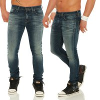 JACK & JONES Herren Slim Stretch Jeans Hose GLENN PAGE Blue BL708 Größe 33/34