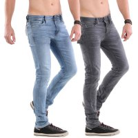 JACK & JONES Herren Slim Stretch Jeans Hose GLENN in 2 Farben