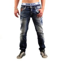 JACK & JONES Herren Slim Stretch Jeans Hose Glenn Fox Leather Blue BL478 2. Wahl