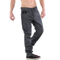 JACK & JONES Herren Stretch Jeans Hose GLENN VINTAGE LEATHER Grey BL390