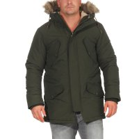JACK & JONES Herren Winter Parka Jacke ARCTIC Rosin...