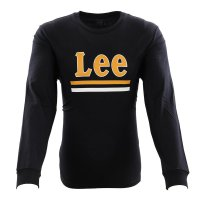 LEE JEANS Herren Langarm Shirt LEE STRIPE LS TEE Black...