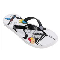 MARC BY MARC JACOBS Damen Toe Strap Sandale Zehensandale BIRD White