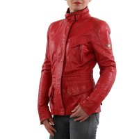 MATCHLESS Damen Leder Jacke NOTTING HILL Classic Red...