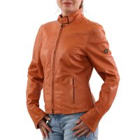 MATCHLESS Damen Leder Jacke OSBORNE BLOUSON Orange 123116