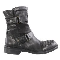 MATCHLESS Damen Leder Stiefel MARLON BOOT Antique Black...