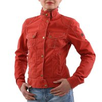 MATCHLESS Damen Sommer Jacke ROADFARER NYLON BLOUSON Orange 120114