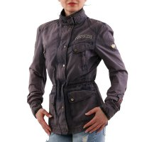 MATCHLESS Damen Sommer Wax Jacke NEW MASHAM REBEL Navy 120021