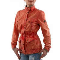 MATCHLESS Damen Sommer Wax Jacke NOTTING HILL Orange 120011 2. Wahl