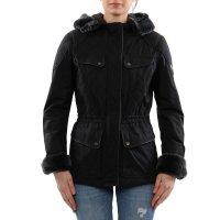 MATCHLESS Damen Übergangs Wax Jacke WINDSOR Antique Black 120014