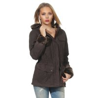 MATCHLESS Damen Übergangs Wax Jacke WINDSOR Country Brown 120014