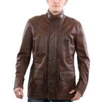 MATCHLESS Herren Leder Jacke NOTTING HILL Antique Brown...